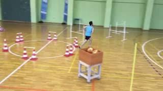 Beden Eğitimi ve Spor Yüksekokulu Parkur Videosu