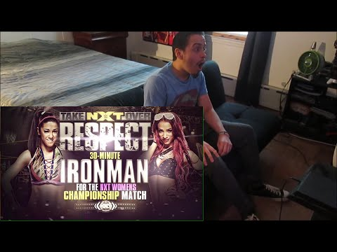 NXT TAKEOVER RESPECT: BAYLEY VS. SASHA BANKS - IRONMAN MATCH (REACTION)