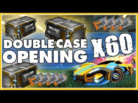 ROCKET LEAGUE FR | DOUBLE CASE OPENING : CHANCE ET POISSE !! [VICTOIRE X60 ]