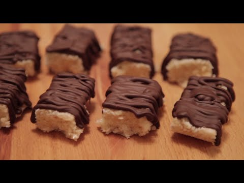 HOW TO: Krispy Coconut Chocolate Bars