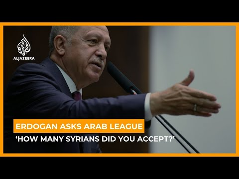 Erdogan asks Arab League: 'How many Syrians did you accept?'