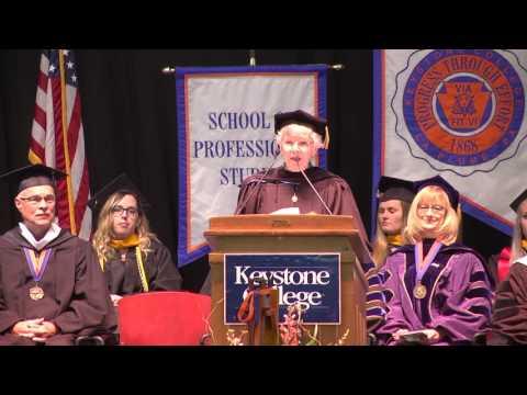 Keystone College Honorary Degree Recipient 2017