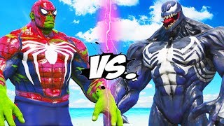 HULK-SPIDERMAN VS VENOM - MASHUP BATTLE