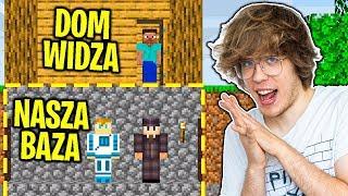 Jak Długo Mogę Żyć Pod Domem Widza Zanim Zauważy? - Minecraft Extreme!