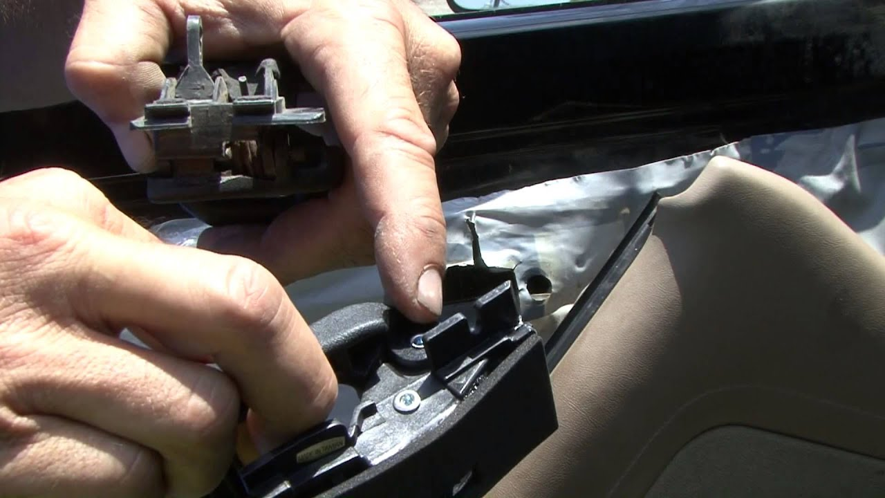 How To Change Your Ford Interior Door Handle Youtube