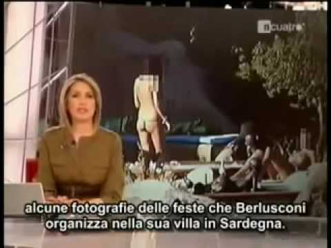 Scandalo Berlusconi-Prostitute censurato in italia ma non all'estero !