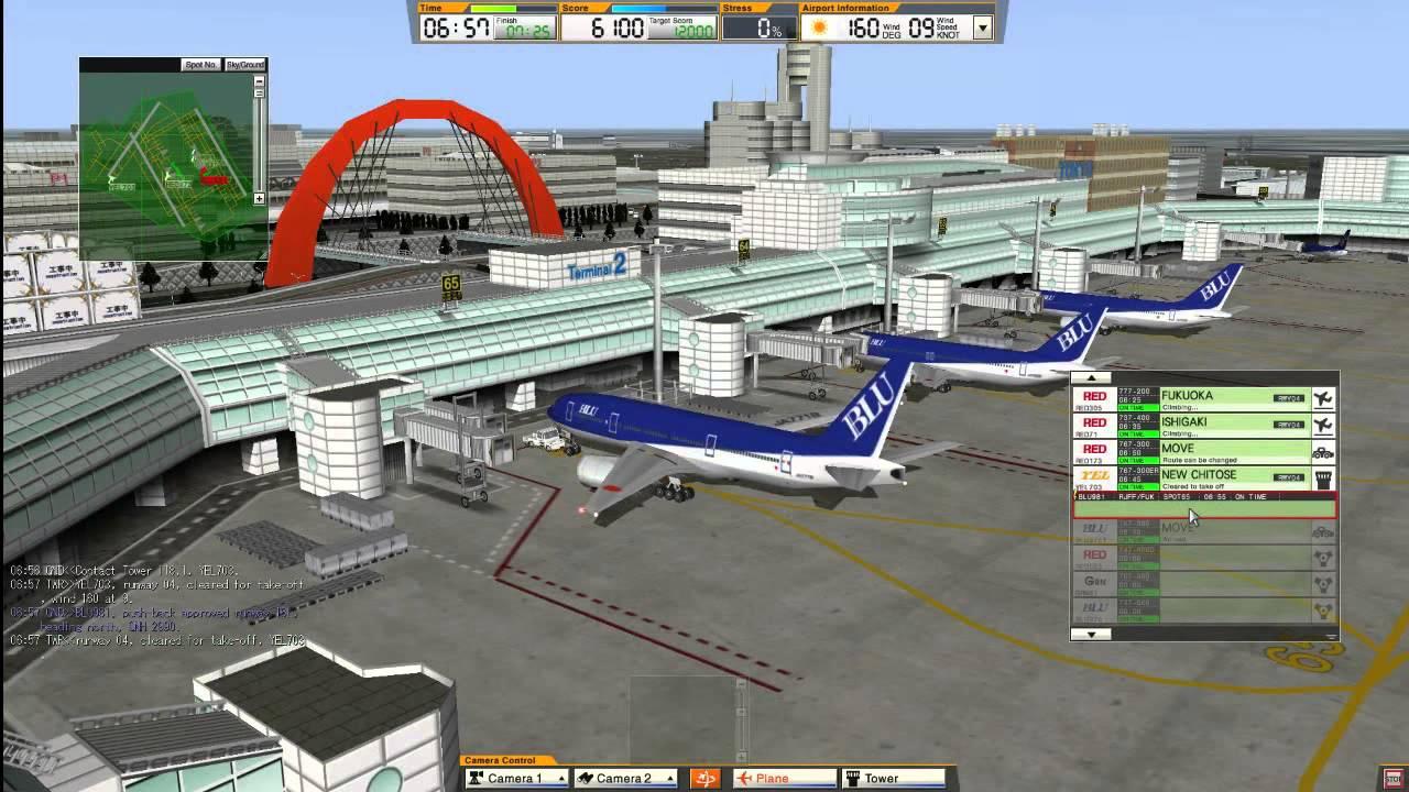 Симулятор Менеджер в аэропорте