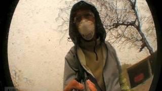 Un día en el infierno patagonico - Ceniza volcanica