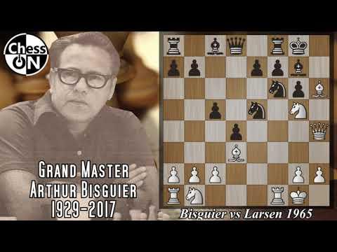 Best Chess Games Ever! Bisguier Vs Larsen 1965