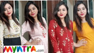 Myntra Kurta Palazzo Set Haul| Best for Summer|Pink's House