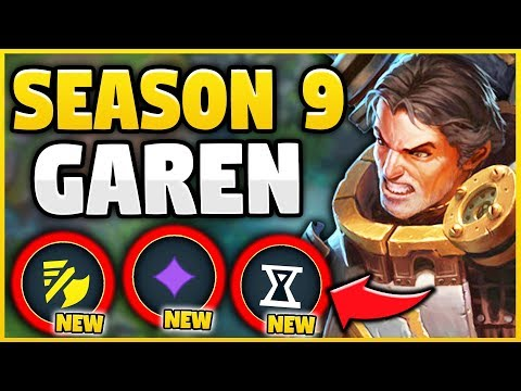 WTF? SEASON 9 BUFFS MAKE GAREN BEYOND BROKEN! YOU WON'T BELIEVE HOW OP GAREN IS! - League of Legends