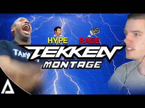 TEKKEN RAGE/HYPE MONTAGE! |