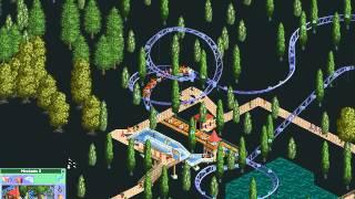 Rollercoaster Tycoon Loopy Landscapes #108 (Wacky Warren: The Moles park)