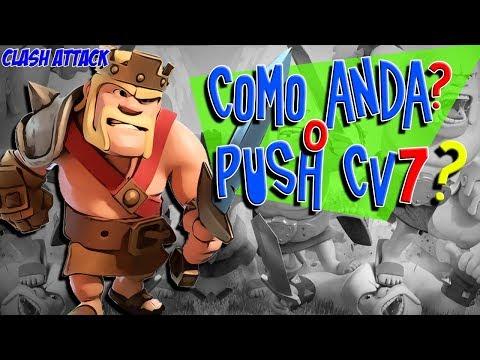 PUSH CV7 :: LUTA PELA LIGA LENDÁRIA NÃO ESTA MOLE :: CLASH OF CLANS