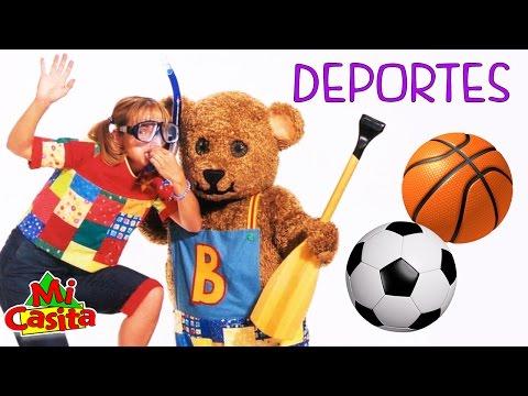 Deportes - Episodios Para Niños - Mi Casita
