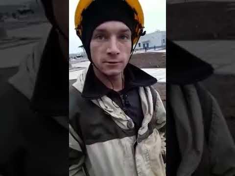 Только в России есть такой водитель катка...