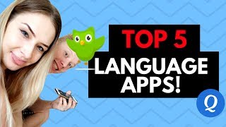 TOP 5 LANGUAGE LEARNING APPS! 📲🌎
