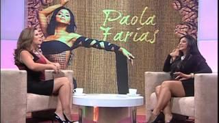 Paola Farías en Un Café con Meche