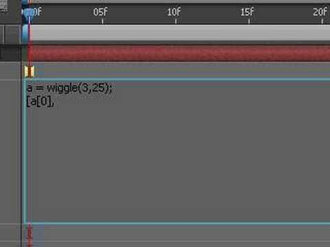 After Effects: Wiggle X, Y & Z independently