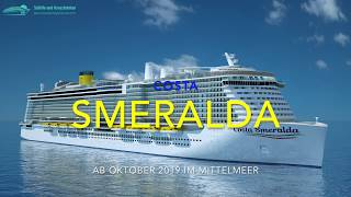 Costa Smeralda: So sieht das neue Schiff aus