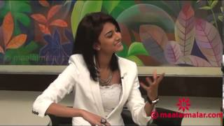 555 Movie Actress Erica Fernandes Interview  by video.maalaimalar.com