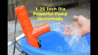 How to make Powerful Water Pump - Homemade High Pressure Pump