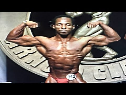 Torre Washington - Progress - Vegan bodybuilder (Vegetarian since birth)