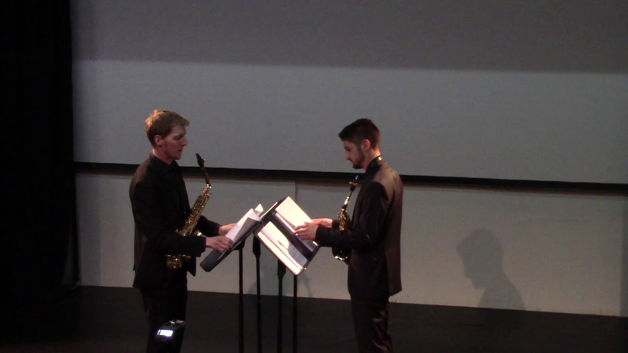 Kathartikos by Franjo Klinar   Kresimir Kottek & Dominik Grgic   XVIII World Sax Congress 2018 #adol