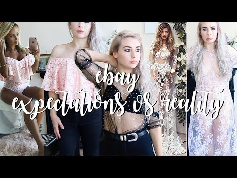 TRYING CLOTHES I BOUGHT ON EBAY, UNDER £9! Hit or Miss.