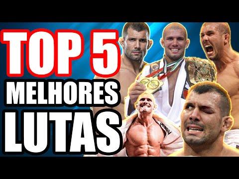 AS 5 MELHORES LUTAS DO RODOLFO VIEIRA