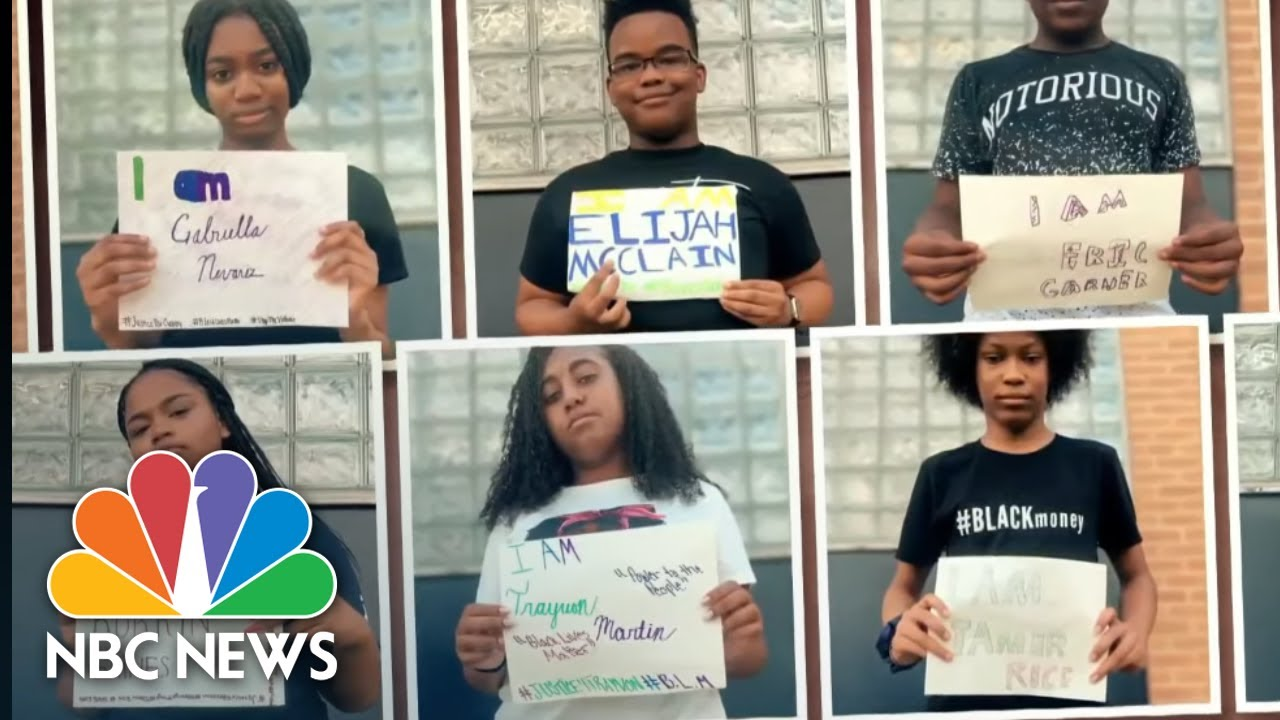 Ohio Teens Use Letters To Advocate Against Police Brutality | NBC Nightly News