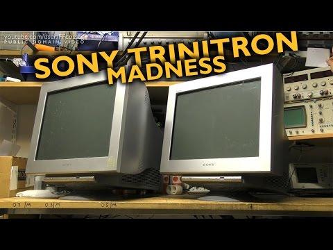 Sony Trinitron Madness