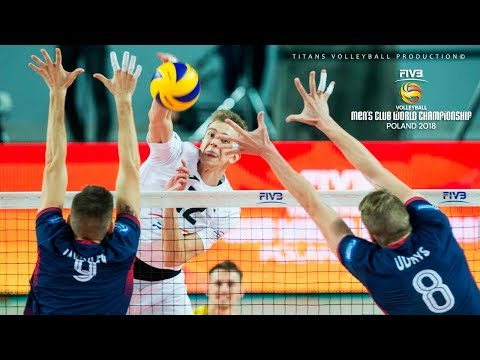 TOP 30 BEST Volleyball PIPE | 2018 FIVB Men's Club World Championship