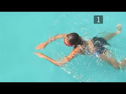 the breaststroke