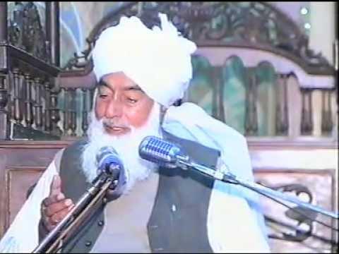 Love of the Ahle-Bayt - Shaykhul Hadith Maulana Shareef Rizvi at Gulistan-e-Muhaddith-e-Azam
