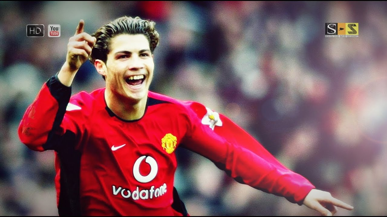 Cristiano Ronaldo All Goals   First Season Manchester United Hd By S S Youtube