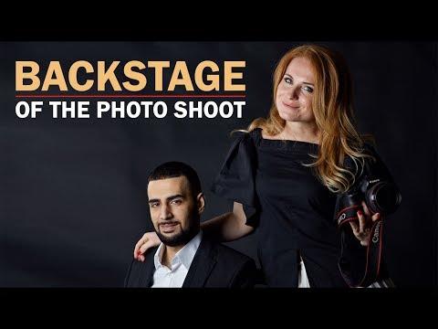 Karen ТУЗ (Backstage of the photo shoot) Photo by Елена Коптева - Ржачные видео приколы