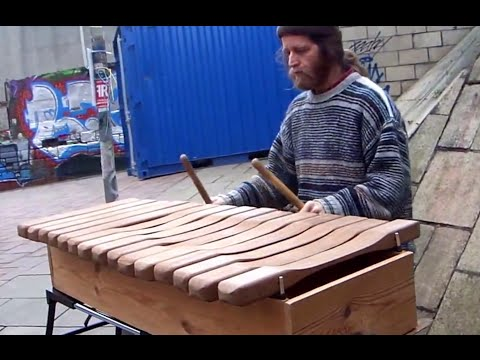 Beautiful Street Xylophone Playing