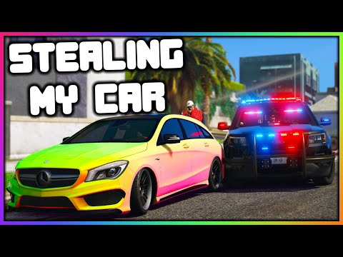 GTA 5 Roleplay - STEALING MY CAR FROM COPS | RedlineRP