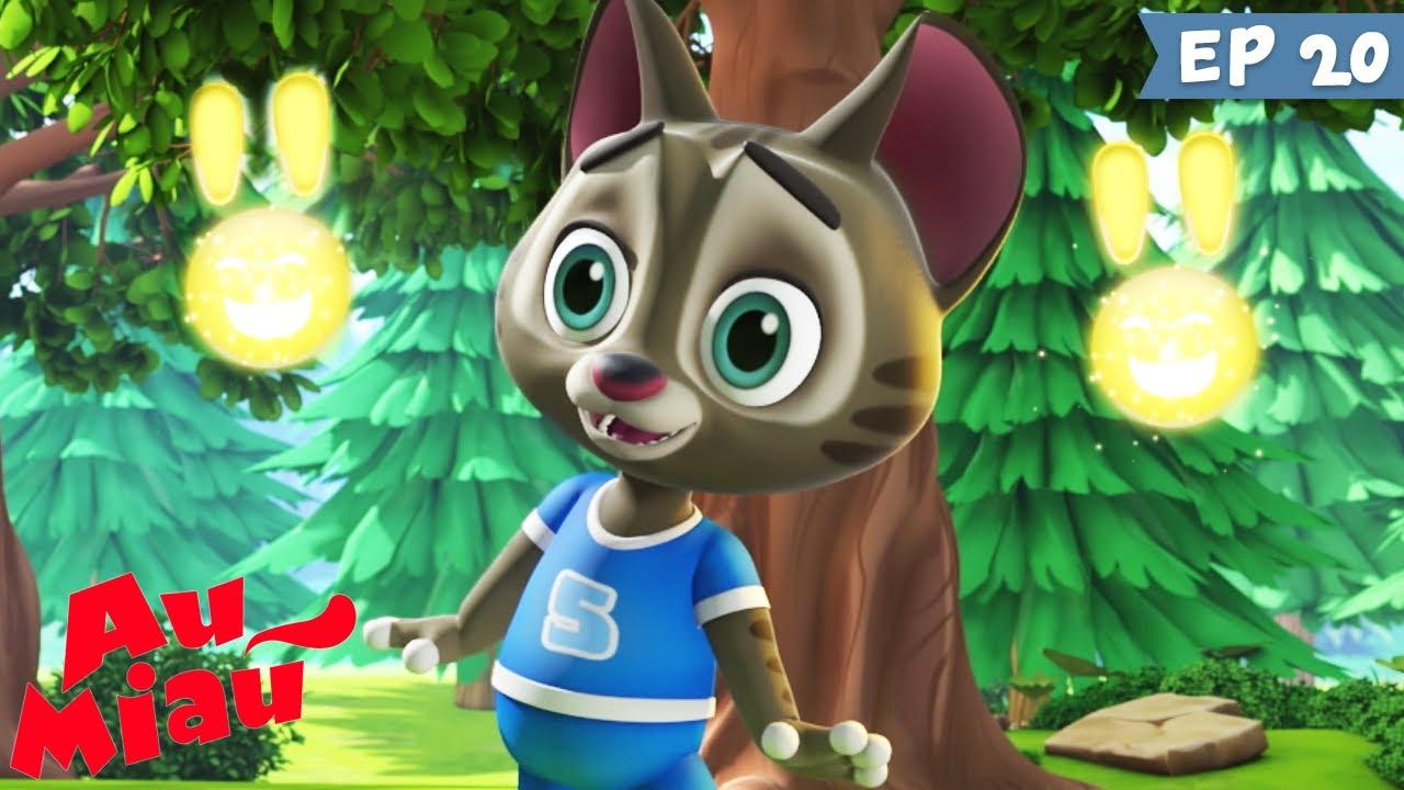 Au Miau 🐶 Parhelios 🐱 Desenho animado infantil