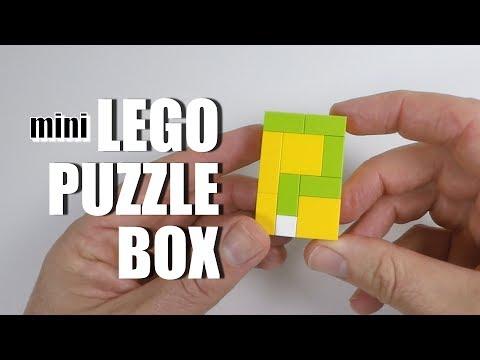 Mini LEGO Puzzle Box - Another LEGO Puzzle Idea
