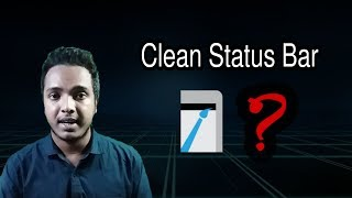 how to Hide Wi Fi icon with Clean Status Bar  Android School Bangla