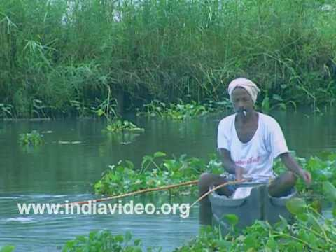 Fishing with choonda, the Kerala fish hook