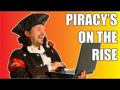 Why is Internet Piracy on the Rise?