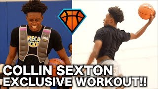 Collin 'YoungBull' Sexton EXCLUSIVE Workout Footage Before Heading to Alabama!!