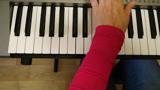 Как брать аккорды на синтезаторе. Красивая последовательность аккордов. Урок 3