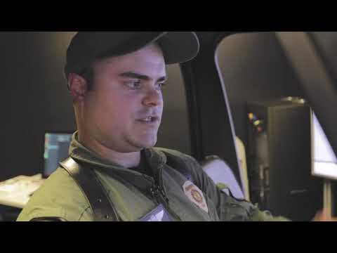 Charlotte Mecklenburg Police Department use a Frasca Helicopter Simulator for Mission Training