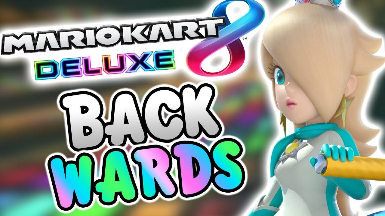 Mario Kart 8 Deluxe BACKWARDS! (Retro Tracks)
