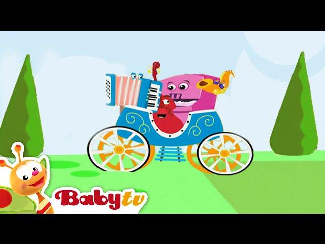 De Jammers spelen accordeon - BabyTV Nederlands