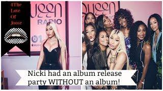 Nicki Minaj had an Album Release Party with NO ALBUM!